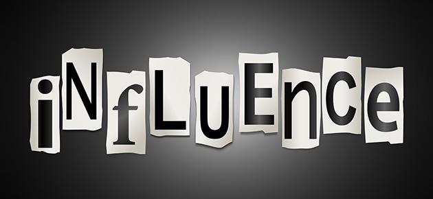 Influences : les Dix choses qui peuvent vous influencer