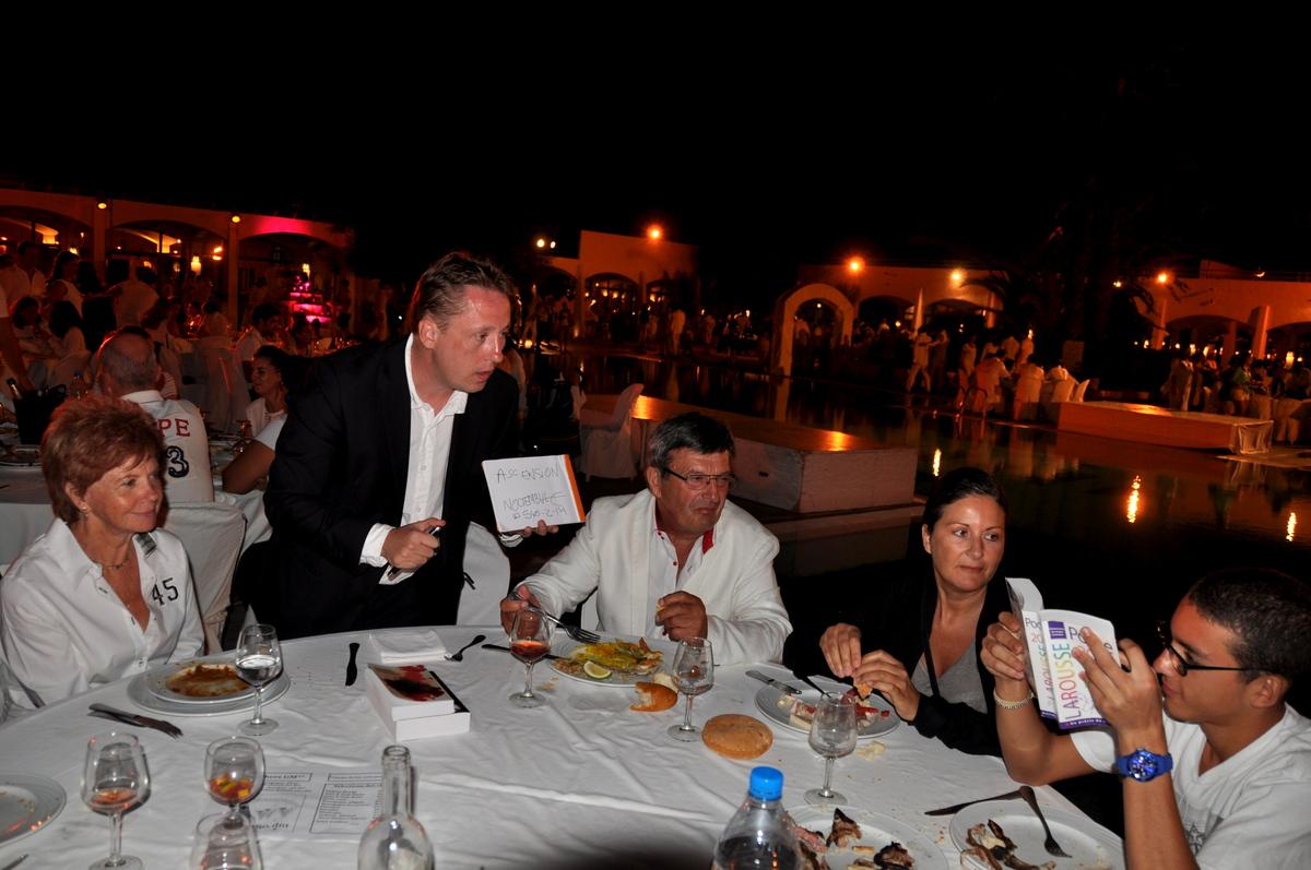 Mentalisme Soirée Blanche, Club Med, Djerba la Fidele