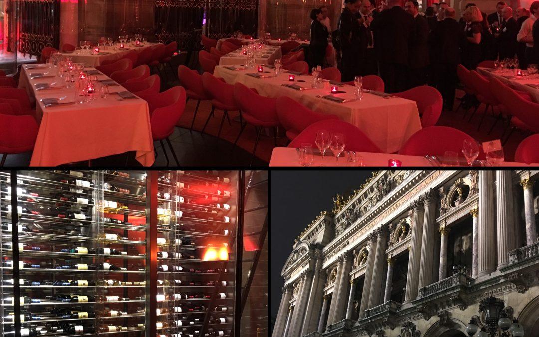 Prestation Mentaliste au Restaurant de L'Opera de Paris