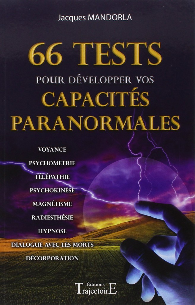 Livre 66 tests pour developper ces capacites paranormales