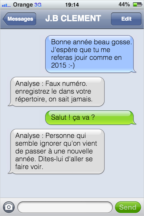 SMS mentaliste bonne annee 2016